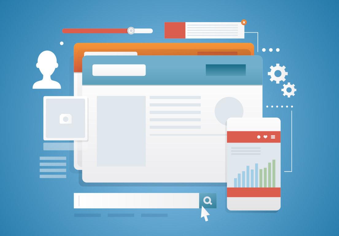 create website service website design